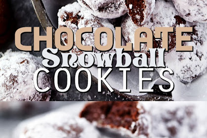 CHOCOLATE SNOWBALL COOKIES