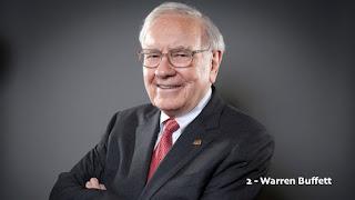 Warren Buffett – US$ 72.5 bilhões (EUA) – Berkshire Hathaway