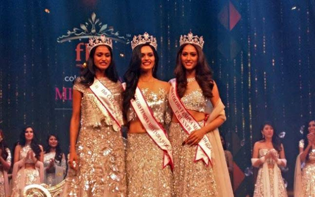 Manushi Chhillar Miss India 2017 Winner
