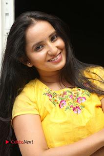 Actress Ishika Singh Pictures in Yellow Dress at Kobbari Matta Teaser Launch  0003