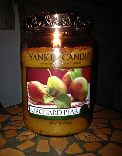 My Yankee Candle Diary Blue Satin Sashes Fireside