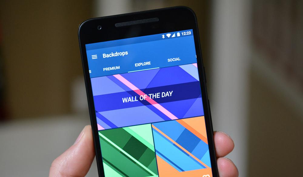 Backdrops: Android Duvar Kağıtları İndirme Uygulaması