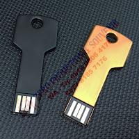 Flashdisk kunci - FDMT17 GOLD BLACK