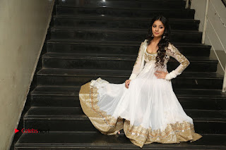 Telugu Actress Mahima Makwana Stills in White Desginer Dress at Venkatapuram Movie Logo Launch  0244.JPG