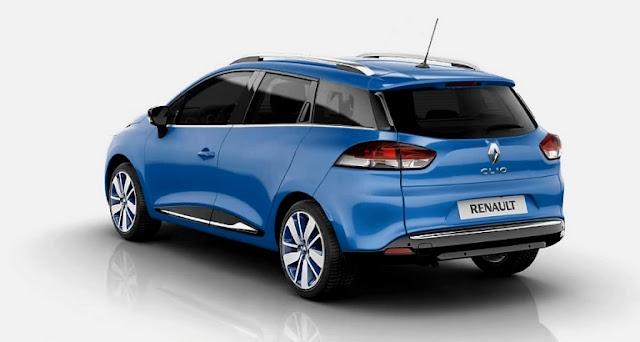 2013 new renault clio 4 estate sw station wagon grandtour garage car. Black Bedroom Furniture Sets. Home Design Ideas
