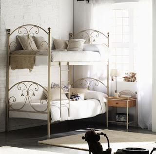 cama alta forja litera