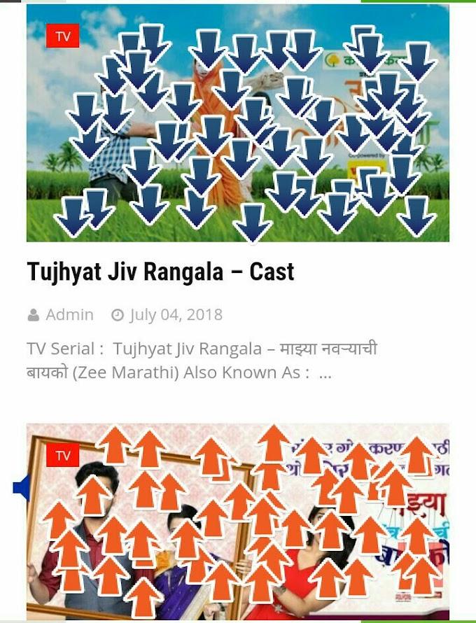Tujhyat Jiv Rangala –  Cast