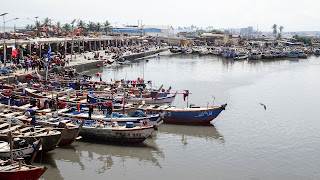 Ghana has thousands of fishing boats