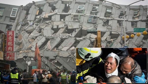 Gempa Taiwan Mengakibatkan 39 Orang Tewas Dan 117 Masih Hilang