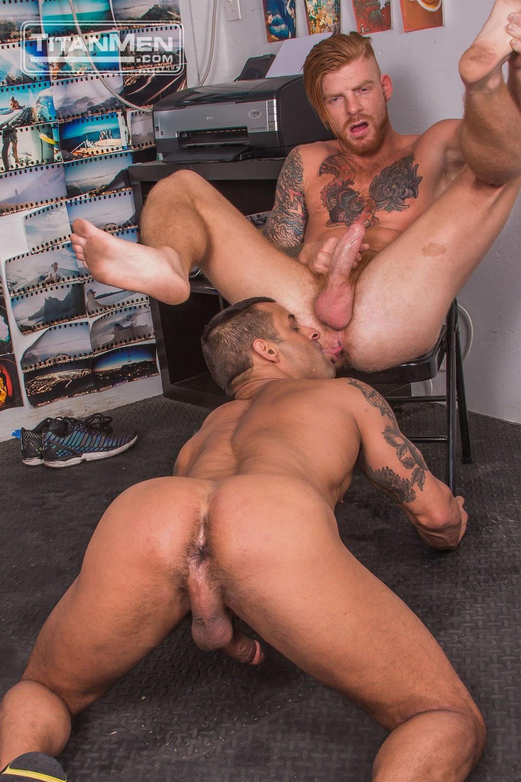 Gay Ginger Porn Star