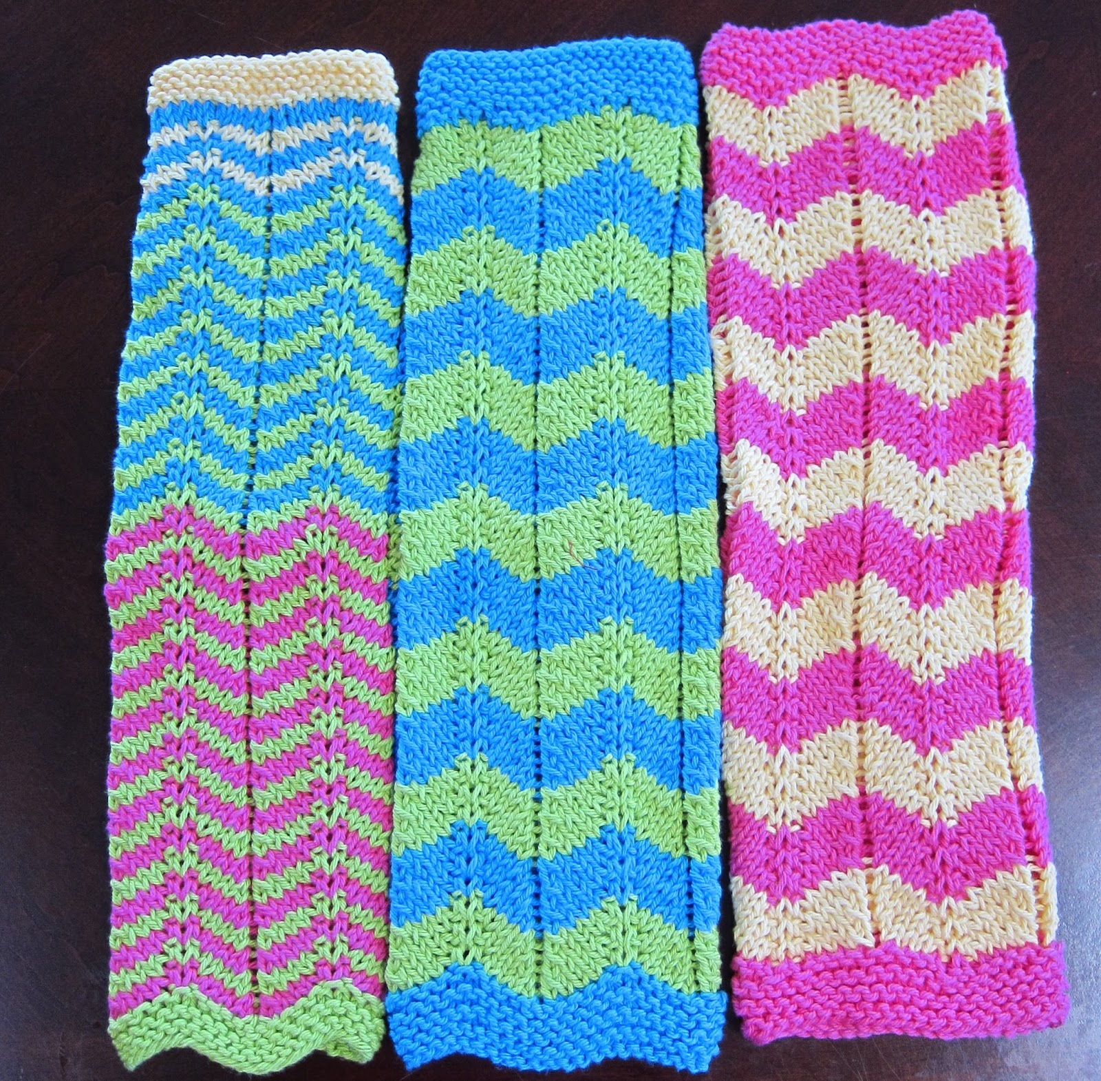 Thinking Out Loud: Knitted Kitchen Towels Free Pattern