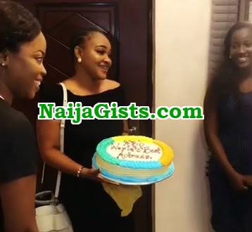 mercy aigbe 40th birthday