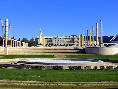 Olympic stadium in Montjuic