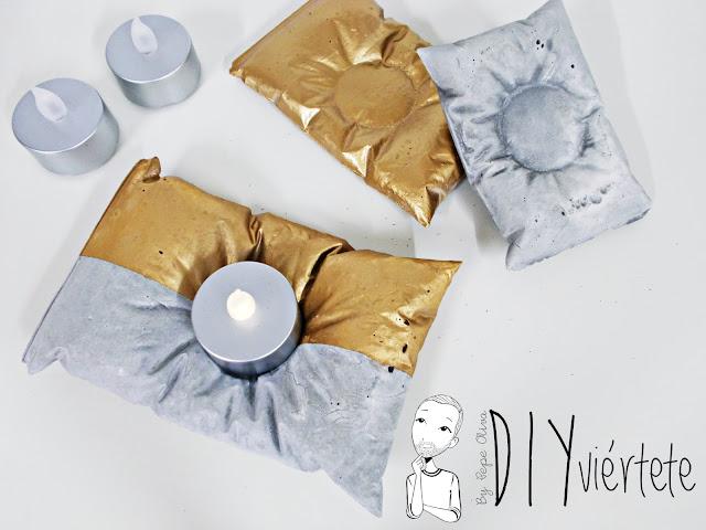 DIY-PINTYPLUS-handbox-ideas-decoración-candelabros-velas-almohada-cojín-cemento-oro-dorado-bolsa-bolsita-saquito-gold-evolution-1