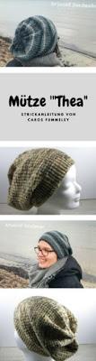 Strickanleitung Mütze aus Sockenwolle