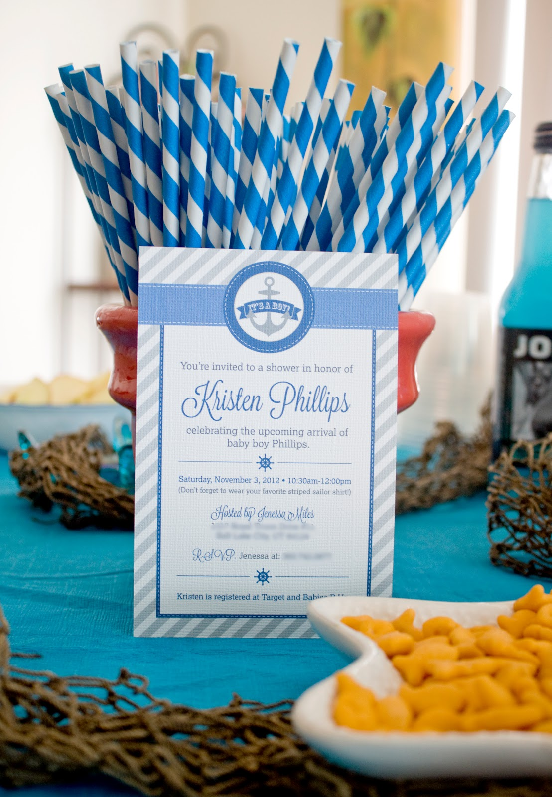 Nautical Baby Shower J Marie Photography Amp Design