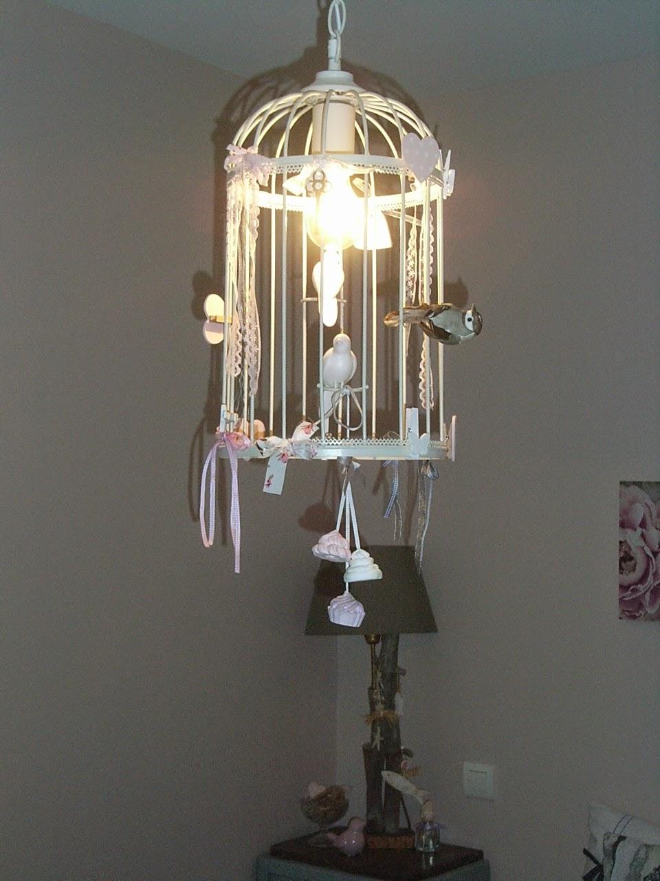 creation decoration customisation lampes bord de mer et suspension cage a oiseaux. Black Bedroom Furniture Sets. Home Design Ideas