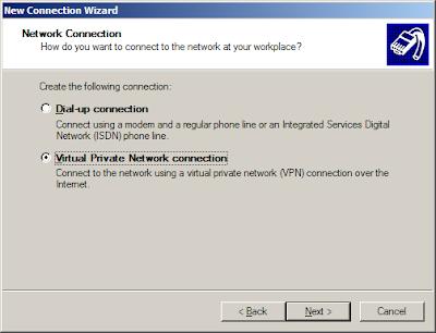 cara setting pptp vpn client