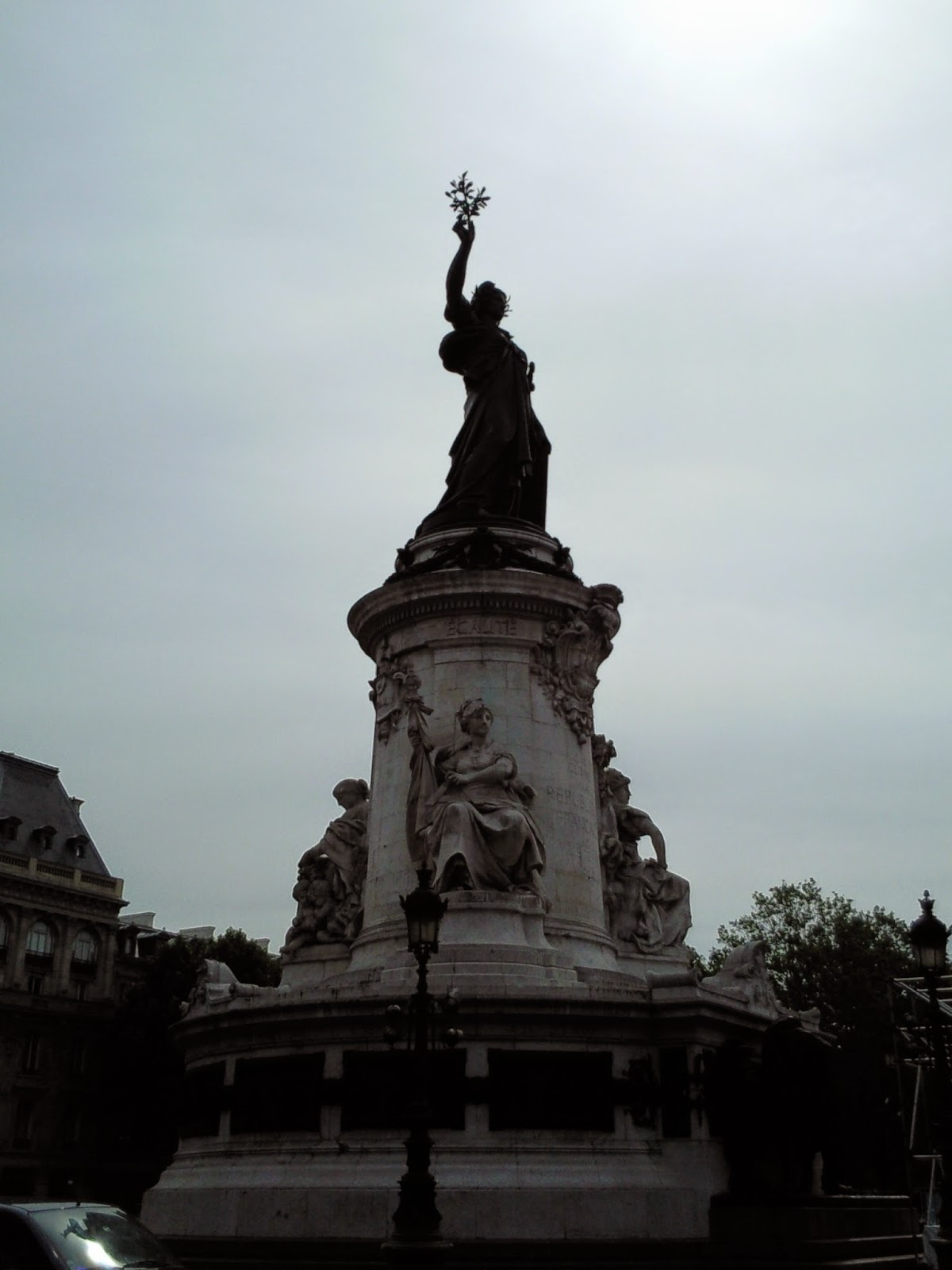 Place de la Republique, Paris