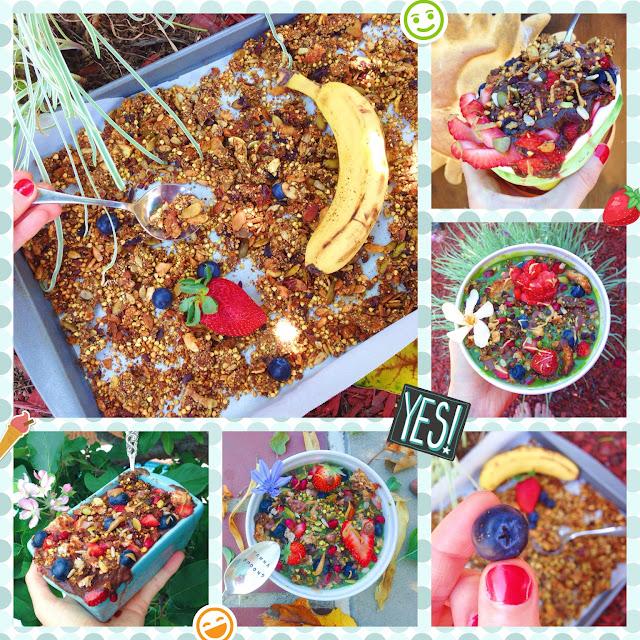 Berry Coconut Granola (Gluten Free, Vegan)