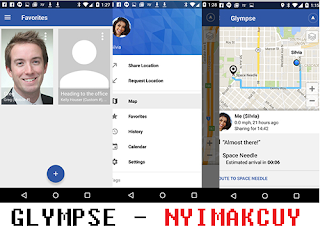 Glympse – Share GPS location