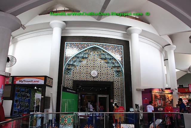 Elevator entrance, KL Tower, Kuala Lumpur, Malaysia