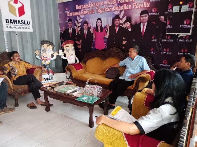 Bawaslu Kendal: Caleg dan Calon DPD Kampanye Bareng Langgar Aturan