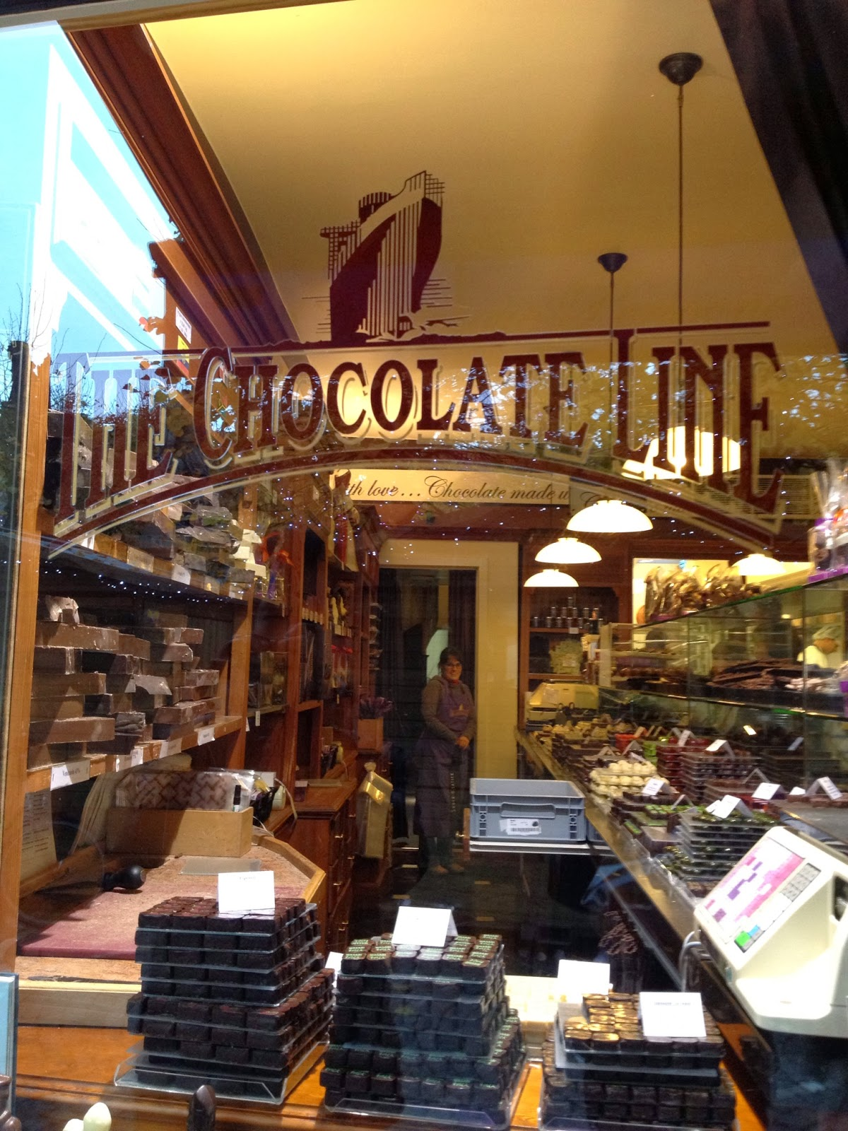 Bruges - The Chocolate Line