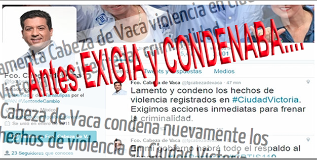 """""""DOBLAN CRIMINALES"""" a CABEZA de VACA,INCAPAZ de PARAR """"MATAZON"""" en VICTORIA"""