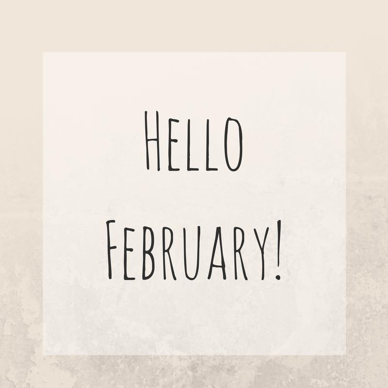 Teacups & Buttondrops: Life   Hello February
