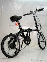 Sepeda Lipat DoesBike 1605 Rotex 6 Speed 16 Inci