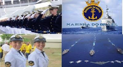Inscrições abertas para Marinha: mais de 400 vagas e salários até R$ 8 mil