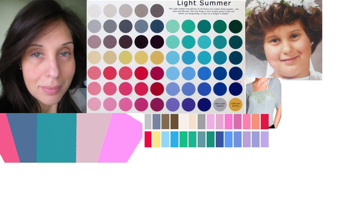 Beauty And Elegance The Light Palette Collages Light