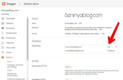 mengatasi blog tidak bisa diakses tanpa www