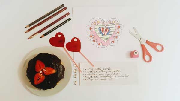 5 ideas rápidas para San Valentín sin gastar dinero