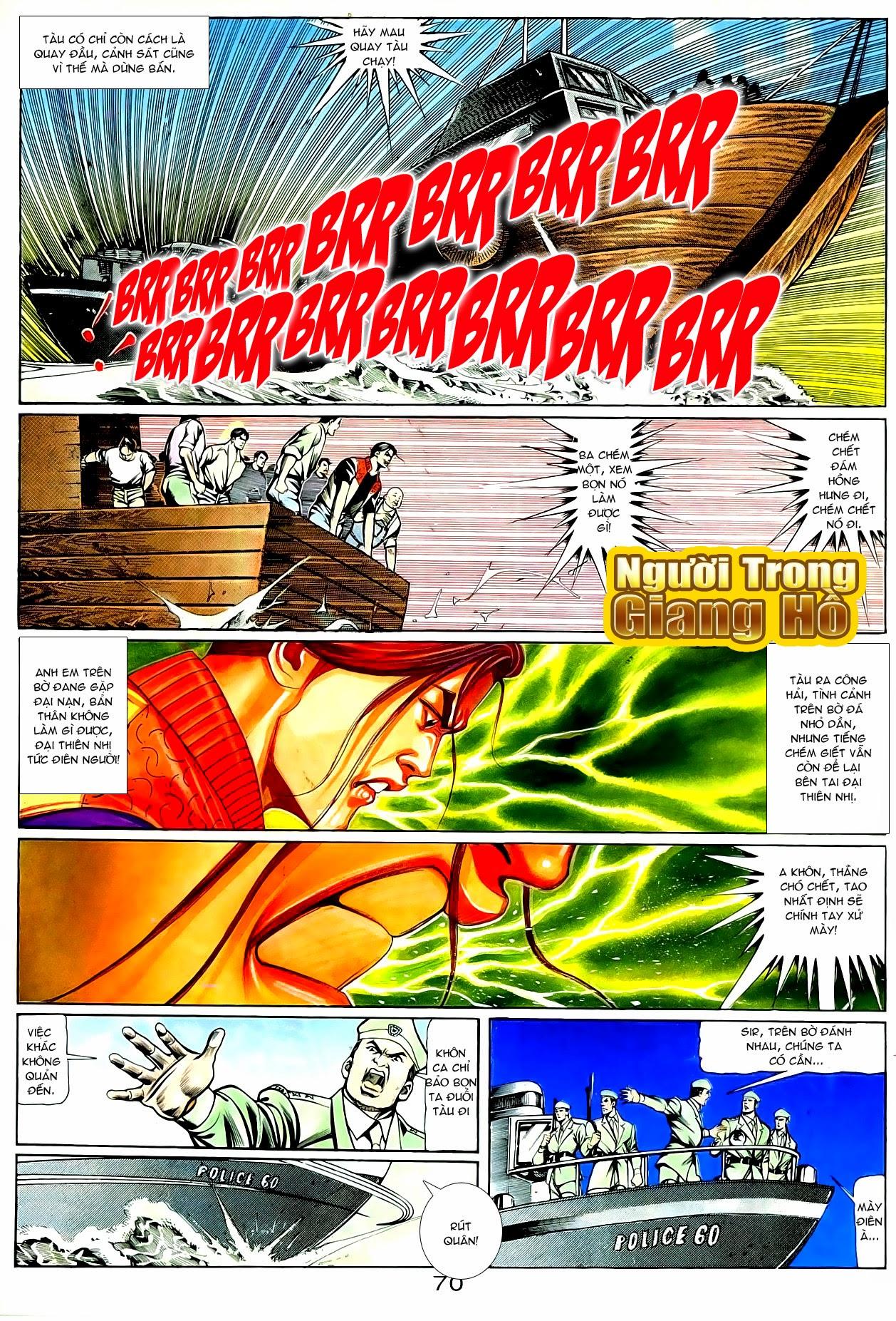 Người Trong Giang Hồ chapter 90: giang hồ hiểm trang 6