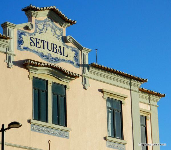Estação Ferroviária de Setúbal, Portugal