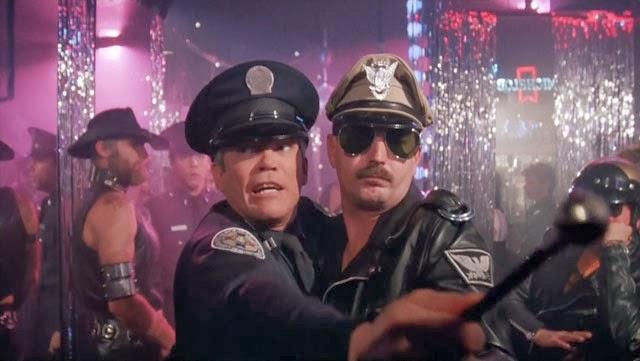 police academy gay bar