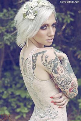 Tatuajes para mujeres en el hombro