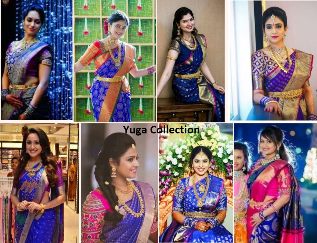 3d6ad9800c9113 Royal Blue Blouse For Wedding