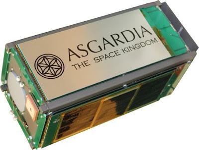 """Asgardia, la """"primera nación en el espacio"""", ya tiene su primer satélite orbitando Satellite-asgardia-1-space-kingdom-of-asgardia"""