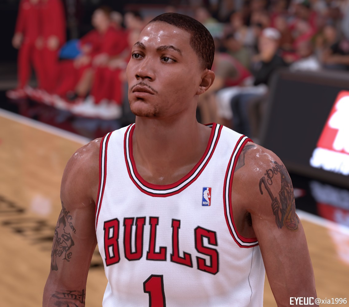 e2adcb8ac7ba NBA 2K19 - Derrick Rose Rookie Cyberface by xia1996 - Shuajota ...