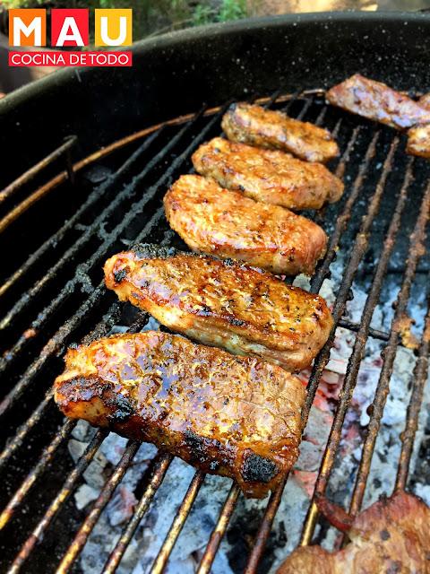 costillitas bbq costillas de res ribeye cajun asador carne asada receta