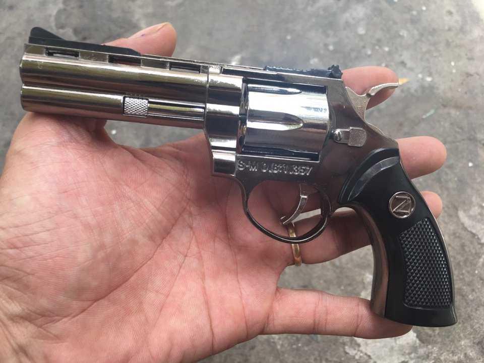 Bật lửa Hộp quẹt hình súng lớn cực ngầu
