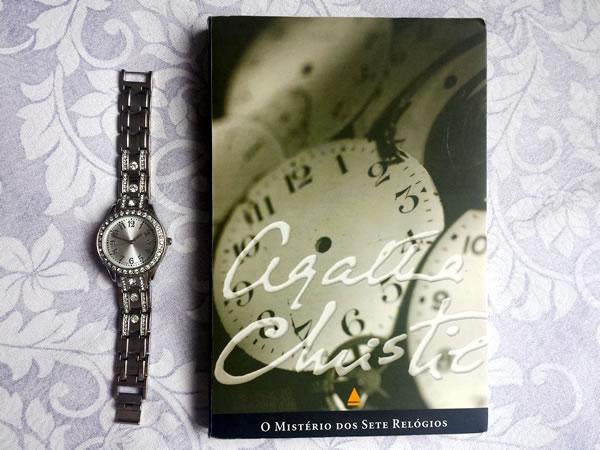 Livro Mistério Sete Relógios Agatha Christie