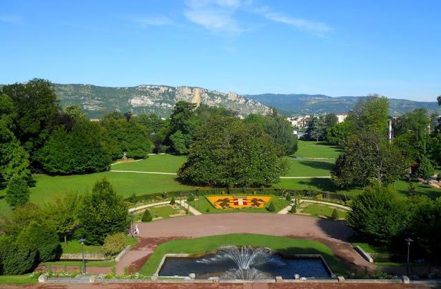 parken Rhonevallei, park valence, park frankrijk