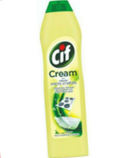 Unilever   Cif Cream With Natural Micro Crystal  Mulai dari Rp 44.000,00, isi 500 ml