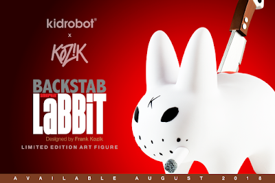 Backstab Smorkin Labbit Vinyl Figure by Frank Kozik x Kidrobot