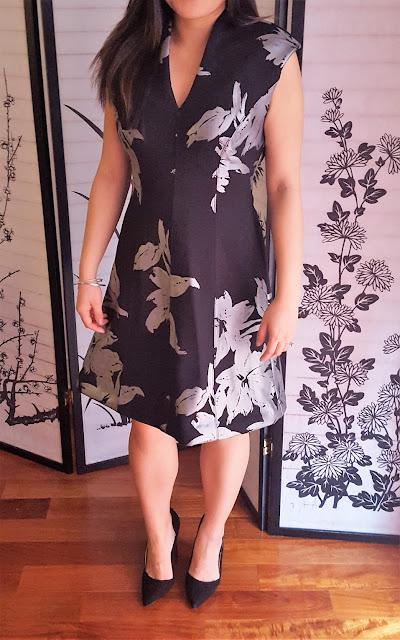 Apt 9 Scuba Floral Dress