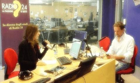 Luca Avoledo a Radio 24